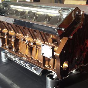 British V12 – Metallic Brown 2