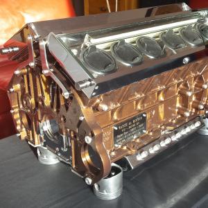 British V12 – Metallic Brown