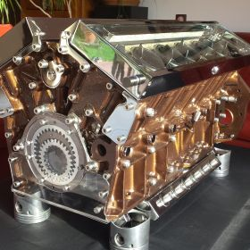 British V12 – Metallic Brown 1